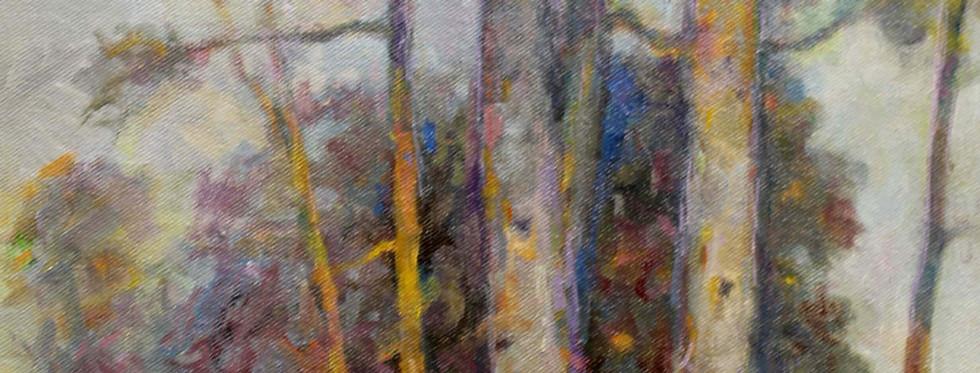 Hilltop View 22 x 12 oil