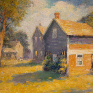 Amana Outbuildings 12 x 16 oil