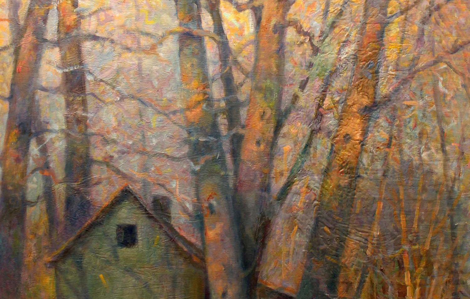 Nestled In 40 x 30 oil