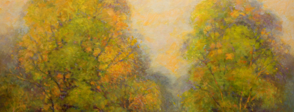 Fall Reflections 24 x 30 oil