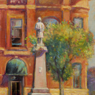 Marion Square 12x9 oil