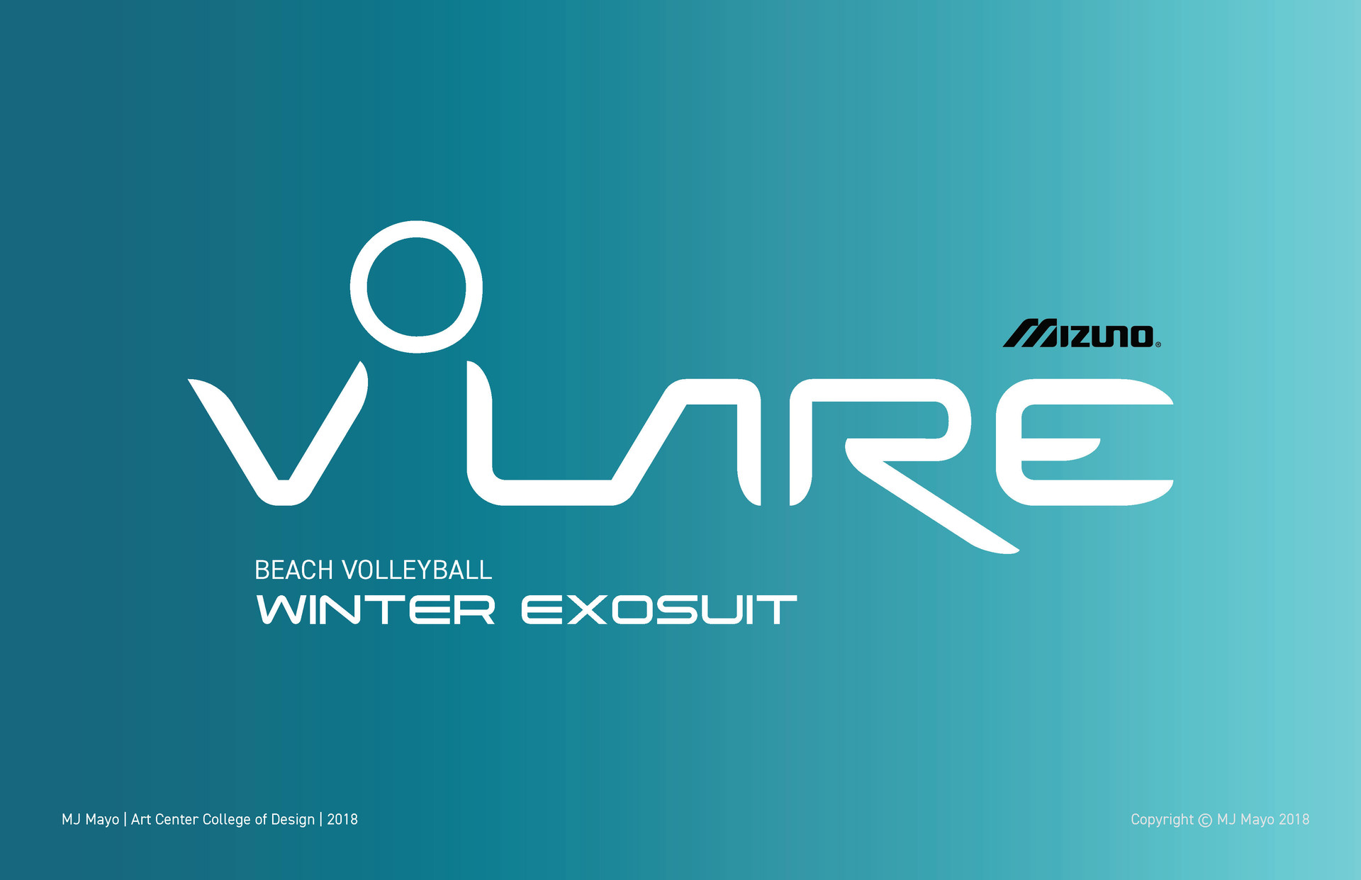 MJ Mayo Volare Winter Volleyball Exosuit