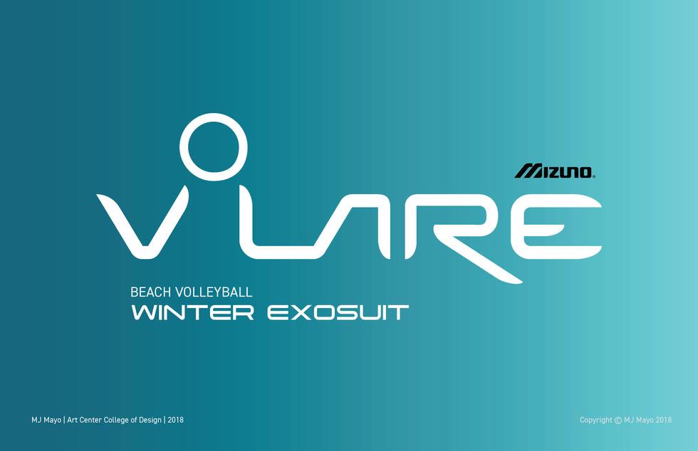 MJ Mayo Volare Winter Volleyball Exosuit