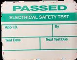 PAT Testing label