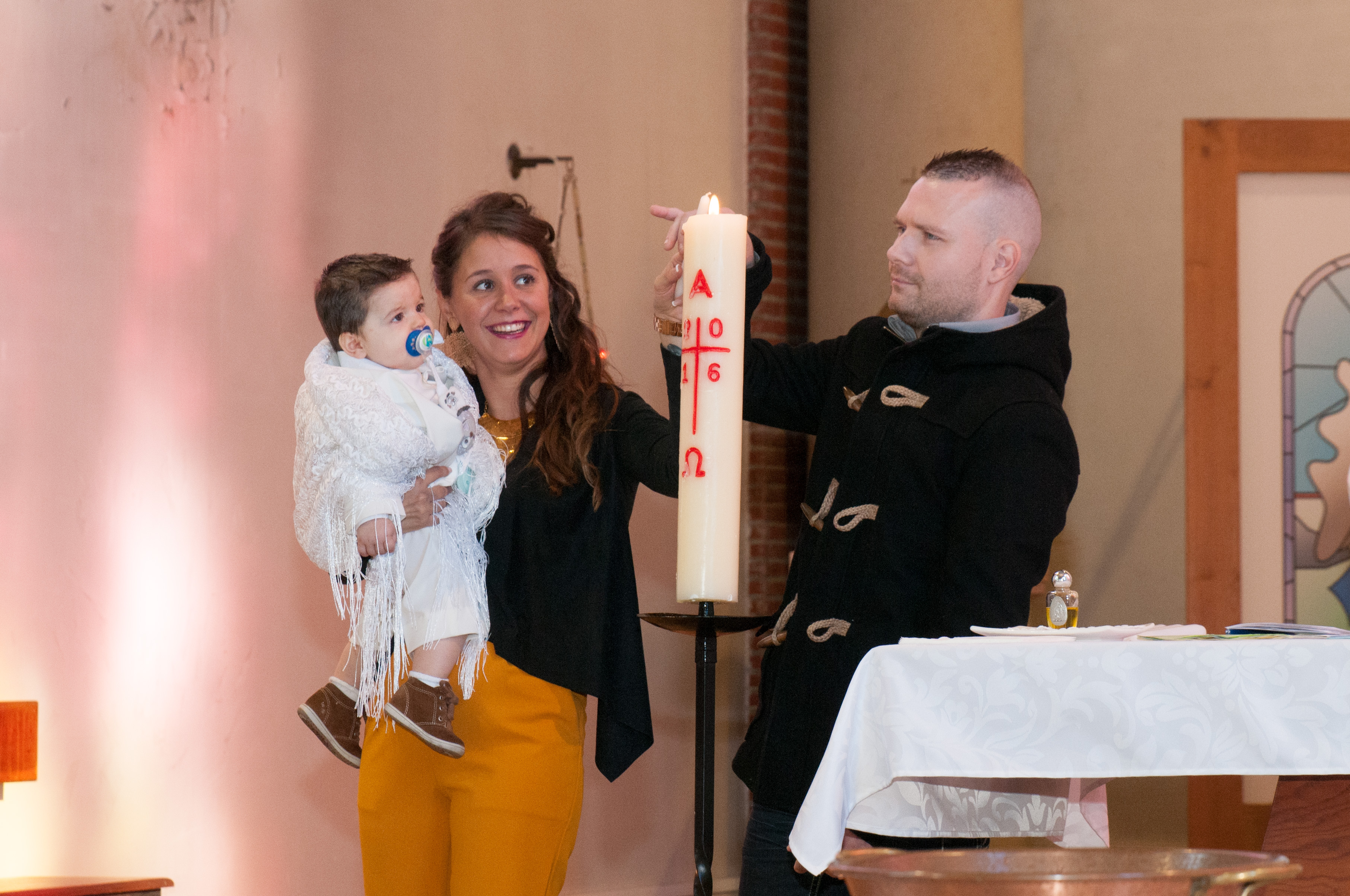 Photo baptême Maubeuge