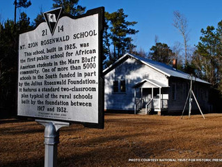Mt. Zion School: Florence-area Treasure Highlighted by the National Trust for Historic Preservation
