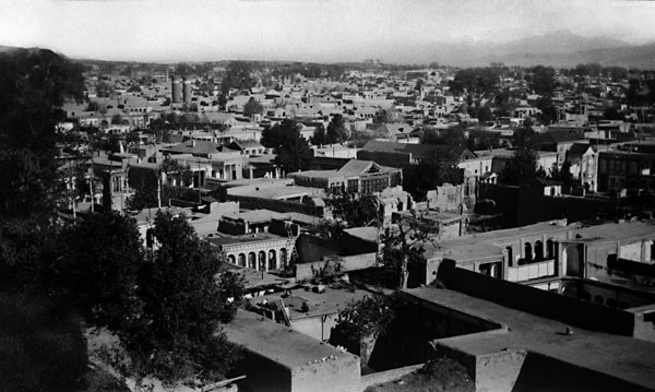 A 19th-century view of Tehran, Iran