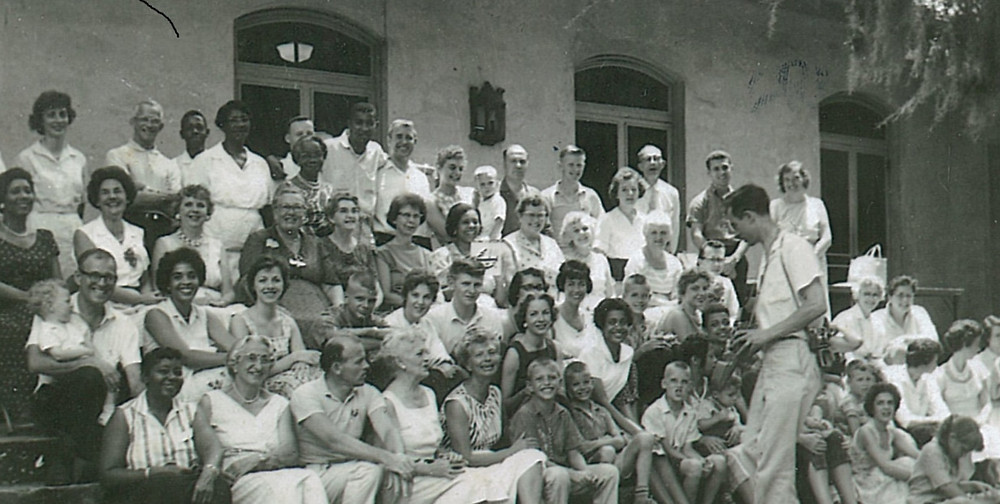 Baha'is at Penn Center, July 1961