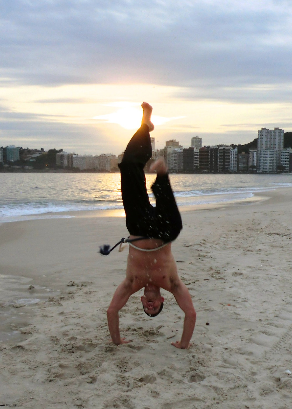 Practice on the beach, Niter, Brazil, 2013