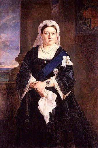 Queen Victoria by Heinrich von Angeli, 1875