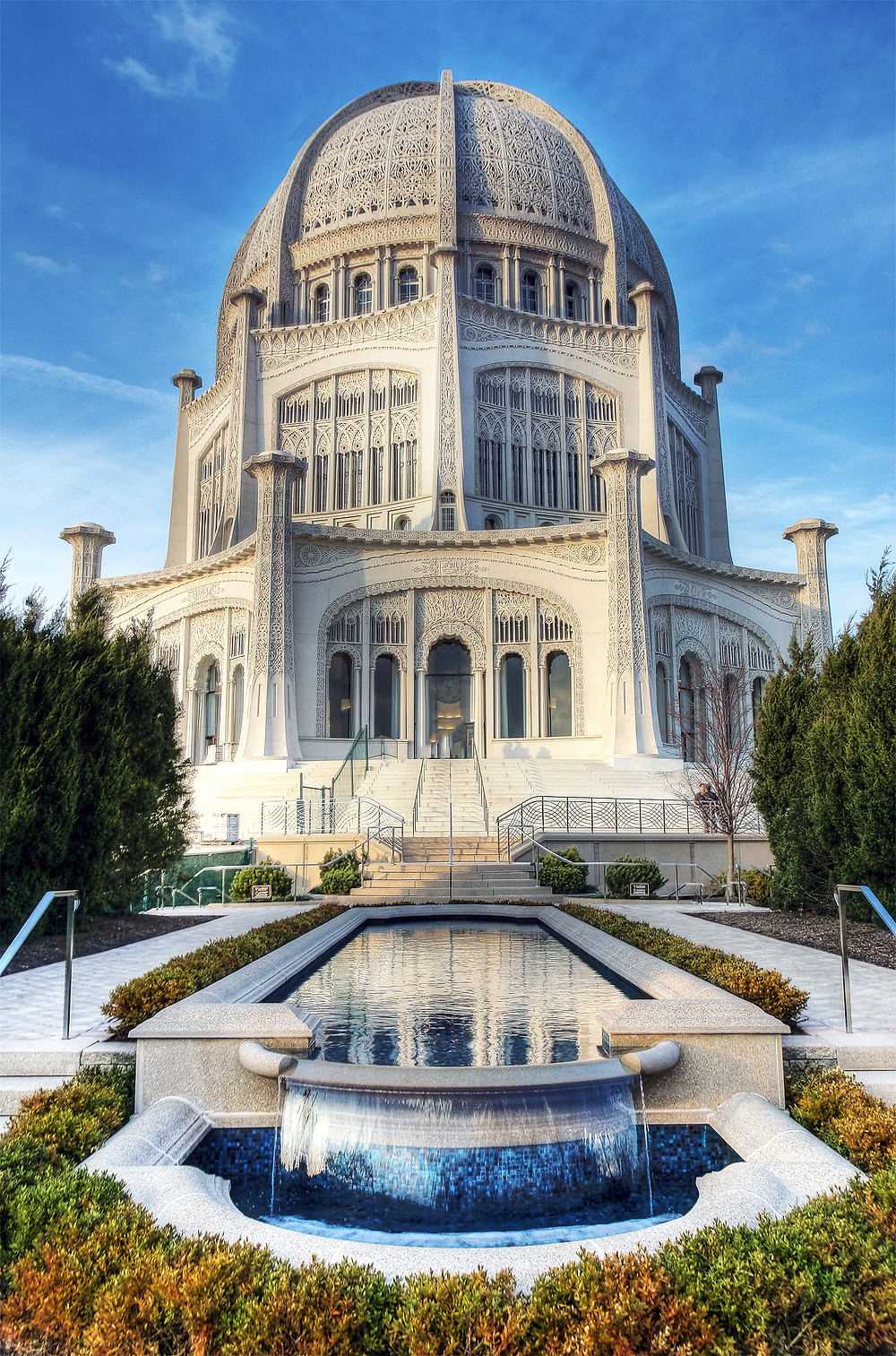 Baha'i house of worship, Wilmette, Illinois