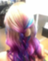Had so much fun doing this color!_#vivid