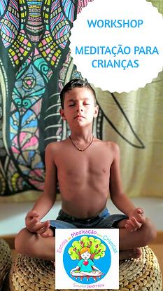 Workshop de Meditação para Crianças