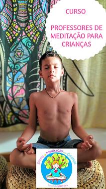 Curso de Professores de Meditação para Crianças