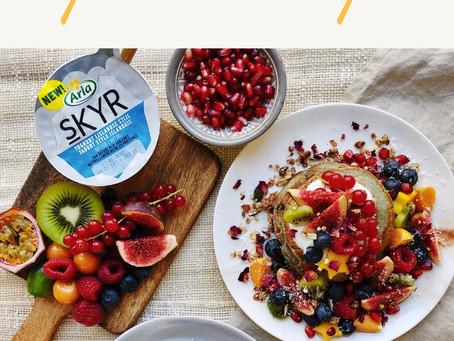 Les Pancakes au yaourt Skyr