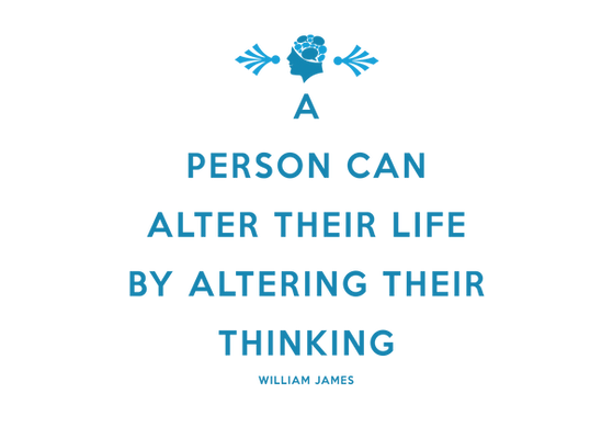 A person can alter their life by altering their thinking Greenwich Psychology Services