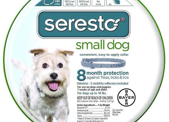 Seresto Flea & Tick Collar - Sm Dog