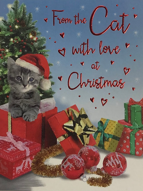 From The Cat Christmas Card