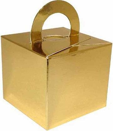 Flat Pack Balloon Weight Gold