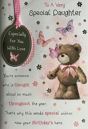 Daughter Birthday Card (Lge)