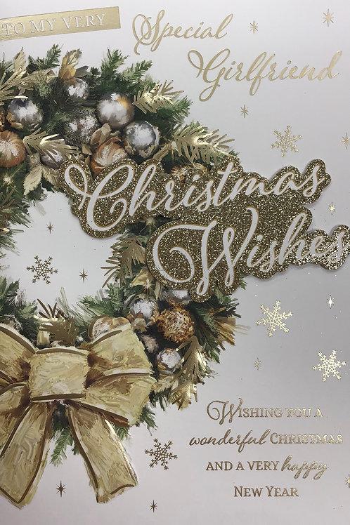 Girlfriend Christmas Card