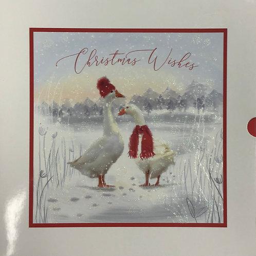 10 Premium Inserted Christmas Cards