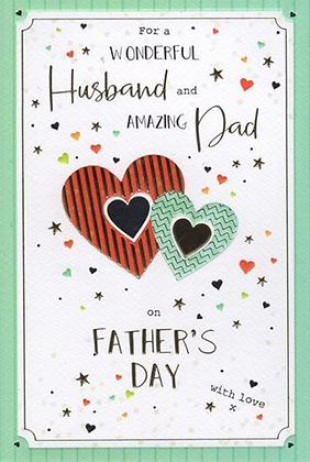 Husband & Dad Father's Day Card