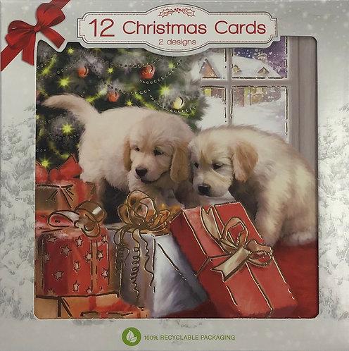 12pk Christmas Cards