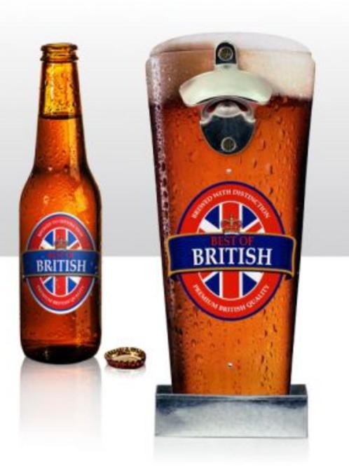 Wall Bottle Opener - Best Of British Pint