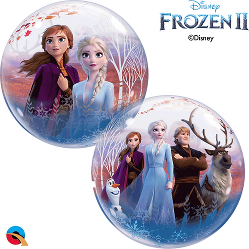 "22"" Disney Frozen 2 Bubble Balloon"