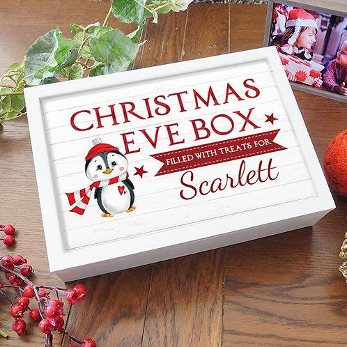 Personalised Christmas Eve Box - Penguin Design