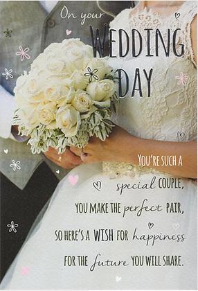Wedding Day Card Photographic