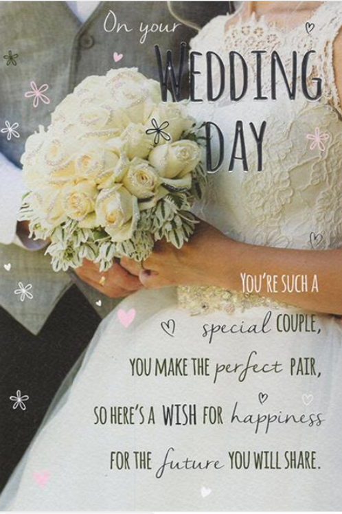 Wedding Day Card Photographic