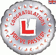 Congratulations You've Passed Balloon