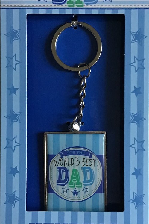 World's Best Dad Keyring