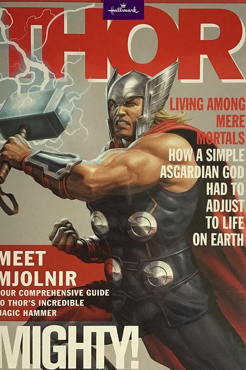 Avengers Thor Open Birthday Card