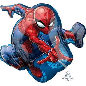 "Spider-Man Supershape 29"" Foil Balloon (Deflated)"
