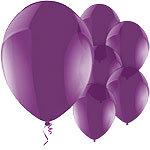 "11"" Latex Balloons Celebration Purple"