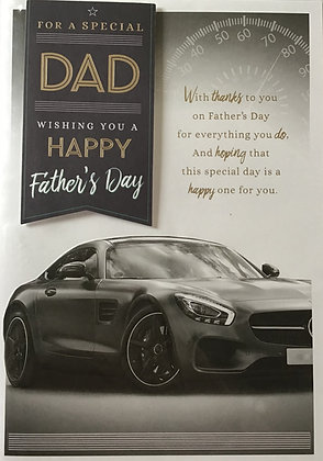 Dad Father's Day Card (Lge)