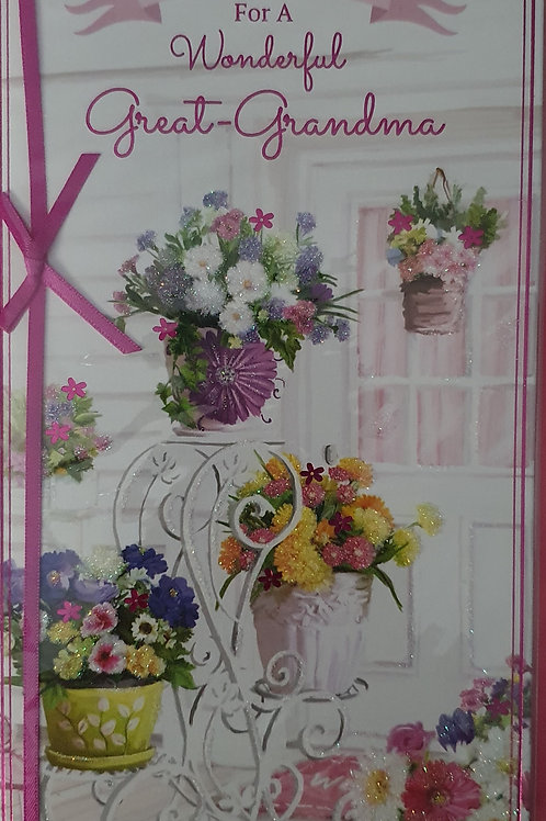 Great-Grandma Birthday Card