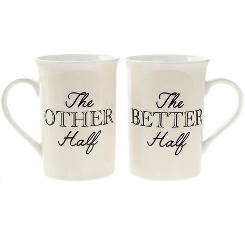 The Other Half - The Better Half Mug Set