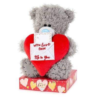 "7"" Padded Heart & Love Envelope Me to You Bear"