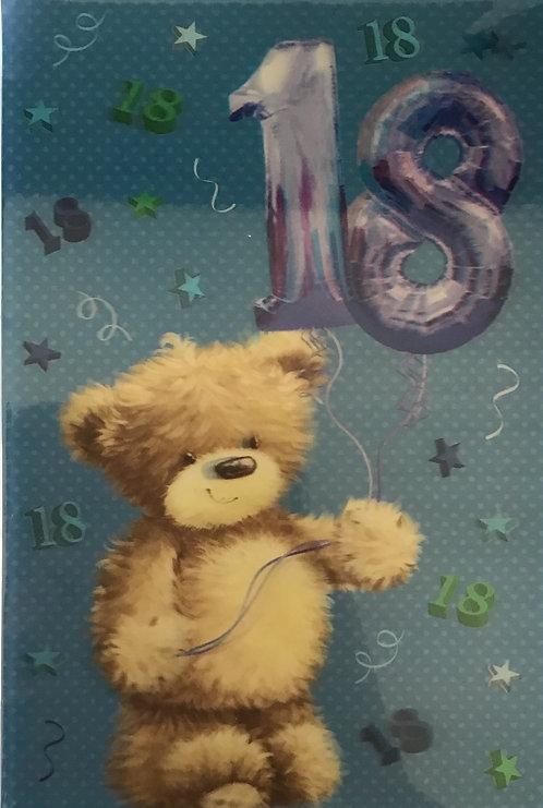3D 18th Birthday Card(C)
