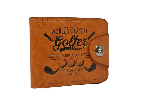 Okayest Golfer Wallet