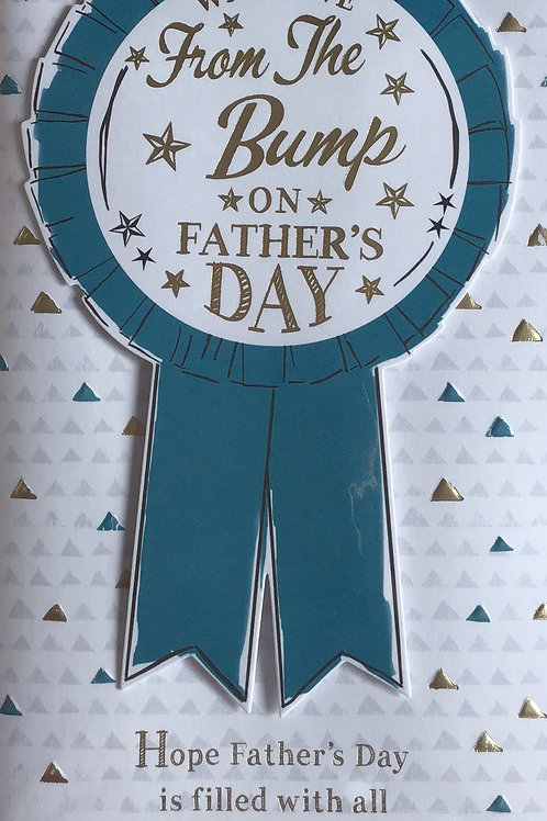 From The Bump Father's Day Card