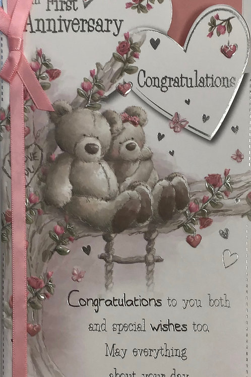 Your 1st Anniversary Card