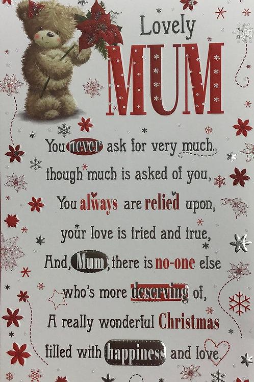 Mum Christmas Card