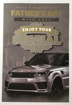 Open Father's Day Card (Lge)