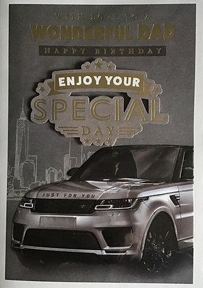 Dad Birthday Card (Lge)