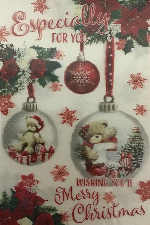3D Open Christmas Card